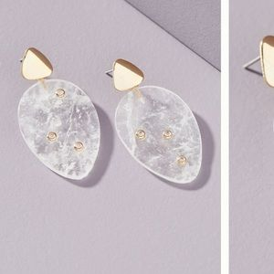 Anthropologie Nita drop earrings NWT